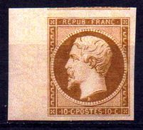 SUPERBE NAPOLEON  N°9 De SPIRO NEUF** Bord De Feuille LUXE 1er Choix 1 Voisin Au Nord - 1853-1860 Napoleon III