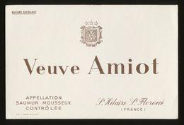 Buvard - Mousseux - VEUVE AMIOT - Buvards, Protège-cahiers Illustrés