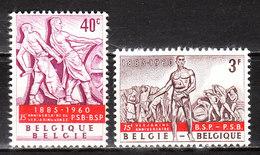 1131/32**  Anniversaire Du Parti Socialiste - Série Complète - MNH** - LOOK!!!! - Belgique