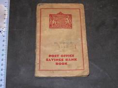 POST OFFICE SAVINGS BANK BOOK - Richard B ASHTON LowerSeymour St 16571937/1944 - Vieux Papiers