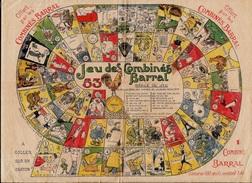 En L'état JEU (de L'OIE) Des Combinés BARRAL Par Edouard Bernard PUB Publicité Alimentaire Oeufs Tour Eiffel Coq - Jeux De Société