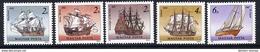 HUNGARY 1988 Sailing Ships MNH / **.  Michel 3966-70 - Hungary