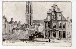 MALINES APRES LE BOMBARDEMENT - Guerre 1914-18