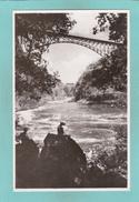 Old Postcard Of Bridge And Boiling Pot,Victoria Falls, Matabeleland North, Zimbabwe ,Y44. - Zimbabwe
