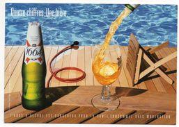 Carte Publicitaire -- 2002  --Bière Kronenbourg 1664-- - Alcohols