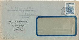 Bohemia & Maravia Nazi Censored Cover Prag 8-10-1941 - Böhmen Und Mähren