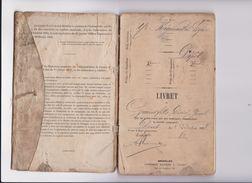 Armée Belge 1878 Livret Militaire De Désiré Grandfils De HUY 7e Régiment D' Infanterie De Ligne Serrurier  RARE - Documents