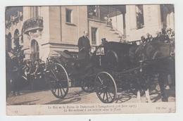 75 - PARIS LONGCHAMP / LE ROI ET LA REINE DU DANEMARK Le 16 JUIN 1907 - France