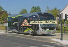 Bus à Haut Niveau De Service (ligne Tzen 1 Du STIF), à St-Pierre-du-Perray (91) - - Autobus & Pullman