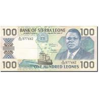 Sierra Leone, 100 Leones, 1988-1993, KM:18c, 1990-09-26, TTB - Sierra Leone