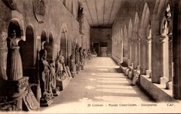 COLMAR - Musée Unterlinden - Sculptures - Colmar