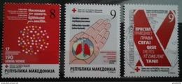 Macedonia 2016 Charity Stamps MNH - Macédoine