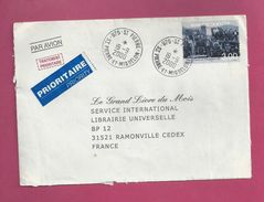 Lettre De Saint Pierre Et Miquelon De 2000 - YT N° 720 - Parade Finale De La Fraude - St.Pierre Et Miquelon