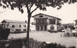 BIDART - PYRENEES ATLANTIQUES - (64) - CPSM DENTELÉE - BEL AFFRANCHISSEMENT PHILATÉLIQUE DE 1958. - Bidart