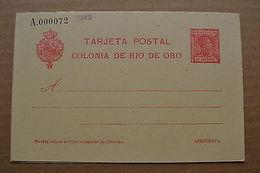 Rio De Oro Spain Spanish Edifil 4 Postal Stationery - Non Classificati