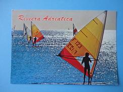 Riviera Adriatica - Controluce - Mare E Surfisti - Controluce
