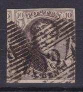 N° 6 Margé ( BDF ) Planche II Position 192  ( Lettres En Filigrane Au Tiers ) - 1851-1857 Médaillons (6/8)