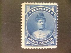 HAWAII 1882 - 91 Princesa LIKELIKE Yvert N 29 (*) MH Sin Goma - Hawai