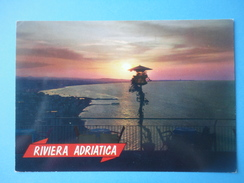 Riviera Adriatica - Controluce - Tramonto Mare E Costa - Controluce
