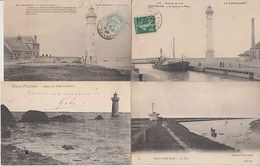LIGHTHOUSES PHARES FRANCE 74 CPA (mostly Pre-1980) - 5 - 99 Postcards