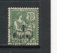 ALEXANDRIE - Y&T N° 61° - Type Mouchon - Alessandria (1899-1931)