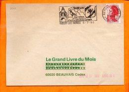 PAS De CALAIS, Noeux Les Mines, Flamme SCOTEM N° 7540, - Oblitérations Mécaniques (flammes)