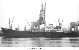 """¤¤  -  Cliché Du Bateau De Commerce """" ZOLOTITSA """"  -  Cargo Russe      -  ¤¤ - Commerce"""