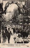 14 CAEN Union Des Sociétés De Gymnastique De France 15 Et 16 Juillet 1911 Défilé Des Sociétés Rue St-Pierre - Caen