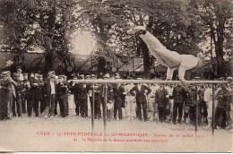 14 CAEN 37e Fête Fédérale De Gymnastique Journée Du 16 Juillet 1911 N°41 Le Ministre Assistant Aux Exercices - Caen