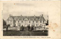 CPA   Environs De La Ferté-Fresnel (Orne) - Chateau De Caumont (435656) - Francia