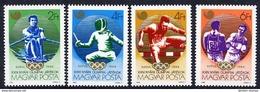HUNGARY 1988 Olympic Games, Seoul MNH / **.  Michel 3959-62 - Hungary