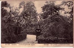 Russian Imperial City View Batumi Botanical Garden Georgia 1914 PC - Russie