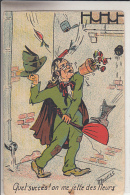 QUEL SUCCES   ON ME JETTE DES FLEURS              ILLUSTRE PAR  GERMAINE BOURET - Bouret, Germaine