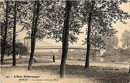 CPA L'Oise Pittoresque-Boran-La Sieste A Coté Du Pont (423957) - France