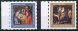 Belgien 2004 Mi: 3332+3333 **  Weihnachten - Weihnachten