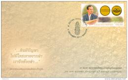 THAILAND - 2013 - H.M. KING BHUMIBOL 86th BIRTH ANNIVERSARY - FDC - Tailandia