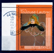 France, Henri De Toulouse-Lautrec, French Painter, 2001, VFU - Used Stamps