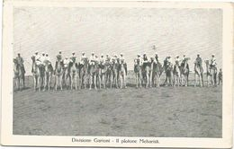Z3765 Tripoli - Divisione Garioni Plotone Meharisti - Guerra Italo Turca 1912 - Franchigia Incrociatore Flavio Gioia - Libië