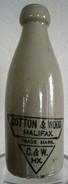 GB.- COTTON & WOOD. HALIFAX. TRADE MARK. C. & W. HX. 4 Scans. - Ceramics & Pottery