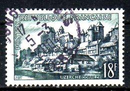 FRANCE. N°1040 Oblitéré De 1955. Uzerche. - Oblitérés