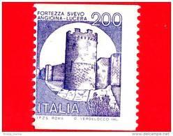 Nuovo - ITALIA - 1981 - Castelli D´Italia - Fortezza Svevo Angioina Di Lucera - - Valori Complementari, Formato Ridotto - 6. 1946-.. Repubblica