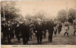 CPA  CAMBRAI .- Le Cortage Presidentiel Allant  (193238) - Frankrijk