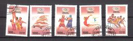 Russia 1996 Olympic Summer Games, Atlanta Mi 514-518 Cancelled(o) - 1992-.... Federation