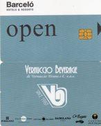 KEY CARD-ITALIA-BARCEO HOTEL - Chiavi Elettroniche Di Alberghi