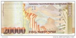 ARMENIA P. 58 20000 D 2012 UNC - Armenia