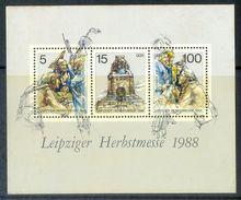 S186- DDR Germany Democratic Republic 1988. Völkerschlacht 1813 Denkmal Napoleon Herbstmesse. - Germany