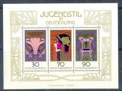 S187- DDR Germany Democratic Republic 1977. ART NOUVEAU (Jugendstil) - Other