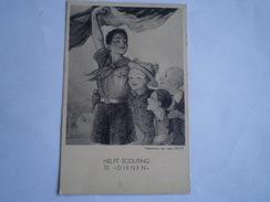 Padvinderij - Boy Scouts - Helpt Scouting Te Dienen // 19?? - Padvinderij