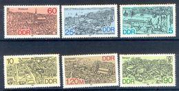 S200- DDR Germany Democratic Republic 1988. Alemania Oriental. City. Flag. Plants. Transport. - Germany