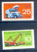 S201- DDR Germany Democratic Republic 1974. Alemania Oriental. Leipziger Herbstmesse. - Germany